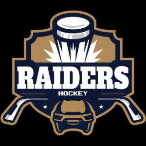 Raiders Hockey logo template Thumbnail